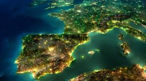 europe-map-night